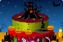 Play Spooky Cake Decorating game