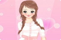 Play Pink Dress Up 3 game