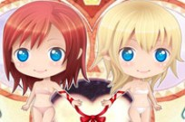 Play Chibi Kairi & Namine Dress Up game