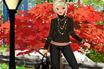 Play Early Fall Fashion Dress Up game