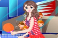 spielen Ping Pong Girl Dress Up Spiel