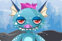 Play Cute Monster Dressup game