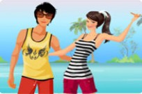 spielen Ozean Couple Dress Up Spiel