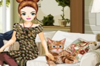 Play Stylish Cat Lover game