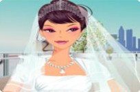 Stylish Wedding Dress Up Game