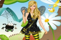 Play Bumblebee Girl Dress Up game
