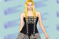 Play Avril Lavigne Dress Up game