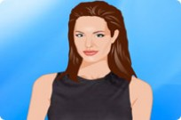 Play Angelina Jolie Dress Up game