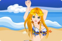 Play Sandy Beach Mermaid game