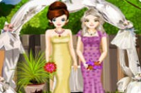 Play Bride And Bridesmaid Fashion Styling game
