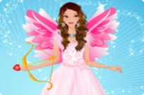 Play Graceful Valentine Angel Dress Up game