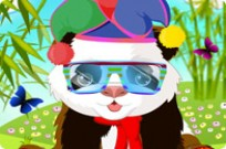 Play Cute Panda Dressup game