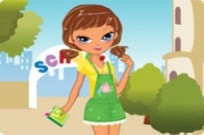 Play Going Back To School Dress Up game