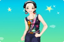Stephanie Dress Up Game