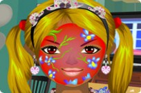 Play Pretty Painted Face game