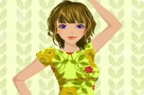 Play Shine Dress Up game