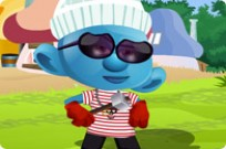 spielen Smurf Dress Up Spiel