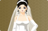 Play Elegant Wedding Dressup game