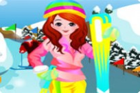 Play Fluo Ski Fashion game