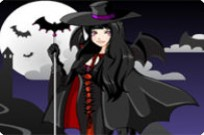 Play Cute Gothic Vampire Girl game