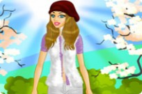 spielen Beautiful Spring Girl Dress Up Spiel