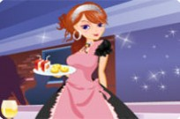 Play Sweety Waitress Dress Up game