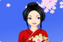 Play Folk Fashion - Kimono game