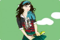 Play Artist Girl Dressup game