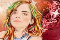 Play Emma Watson Deathly Hollows Makeover game