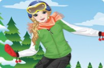 Play Snowboard Girl Dress Up game
