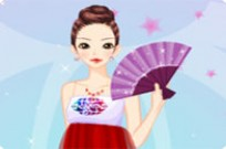Play Pretty Gown Dressup game