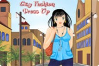 Play City Fashion Dress Up game