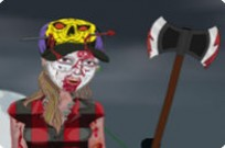 Play Zombie Girl Dress Up game
