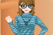 Play Stairs Dress Up game