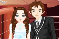 Play Wedding Couple Dressup game