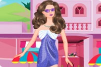 Play Barbie Summer Go Out game