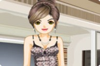 Play Stylish Pajamas Dress Up game