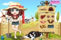 Play farmer girl dress up game