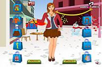 spielen Neujahr Shopping Dress Up Spiel