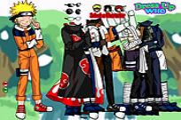 Play Naruto And Frieds Dress Up game