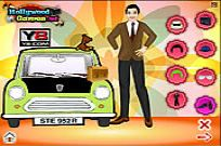 spielen Mr. Bean Dress Up Spiel