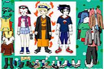 Play Naruto Character Dressup game