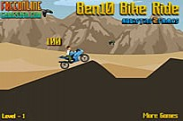 Play Ben 10 Bike Ride game