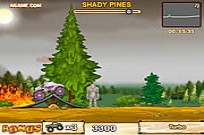 Play Monster Truck VS Forest game