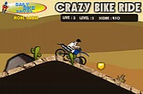 Play Crazy Bike Ride game