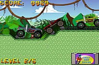 Play Monster Truck Race 3 game