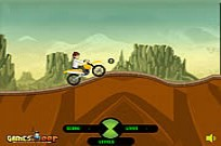 Play Ben 10 Stunt Ride game