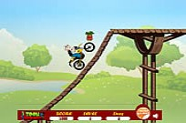 Play Popeye Bike Ride game