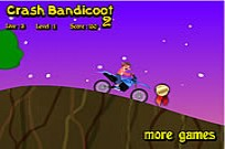 Play Crash Bandicoot Bike 2 game