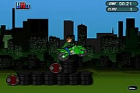 Play Ben 10 Bike Trail 2 game